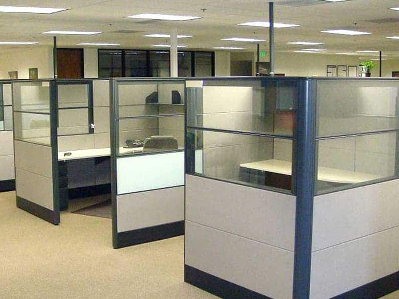 Divisiones altura media accesorios divisiones y for Divisiones para oficina